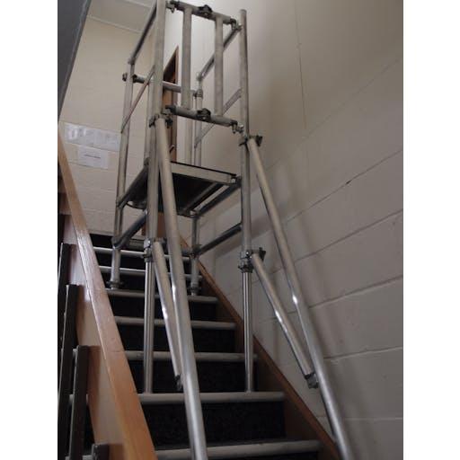 Stairwell Podium