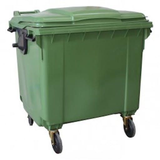 Site Waste Bin - 4 wheel