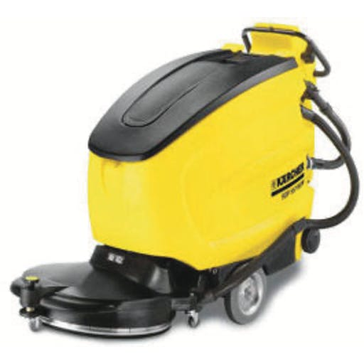 Industrial Floor Scrubber