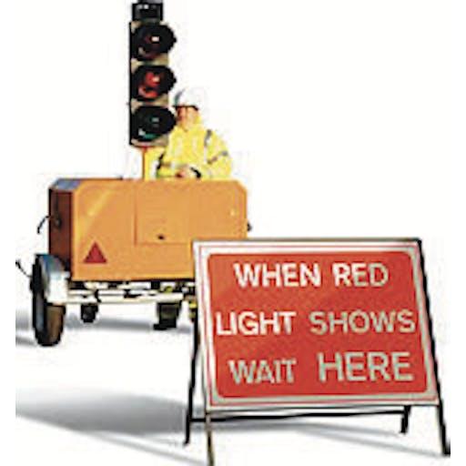 Temporary Traffic Lights - 2 Way