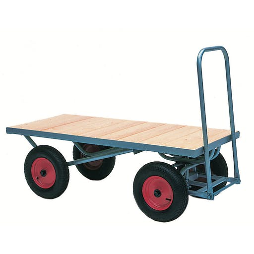 Flatbed Turntable Truck
