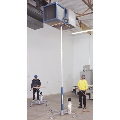 Gas Materials Lift