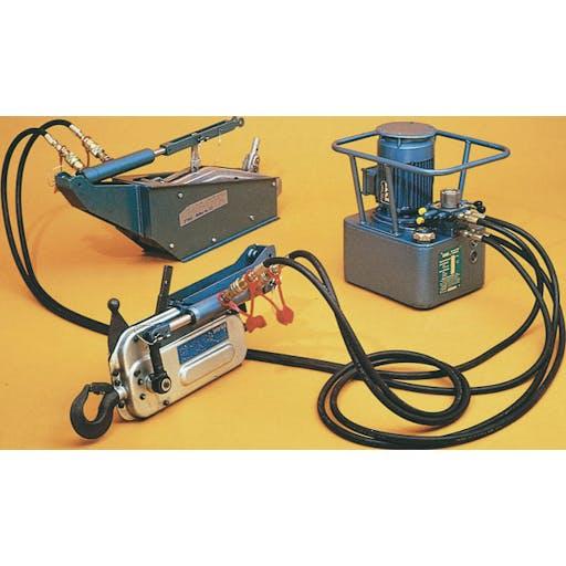 Rope Winch - hydraulic