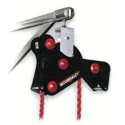 Secure Pulley Wheel