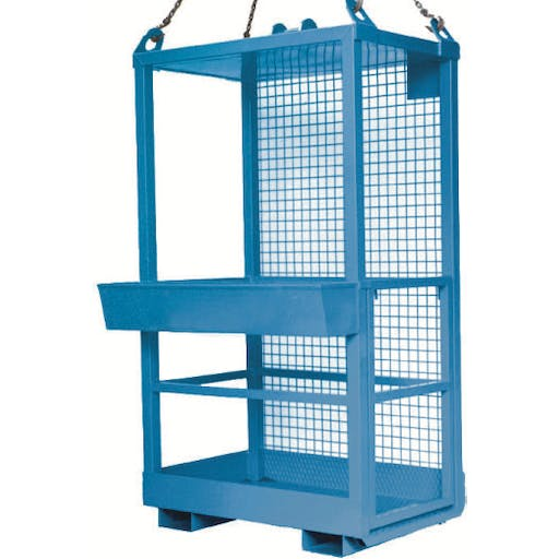 Man Lifting Cage