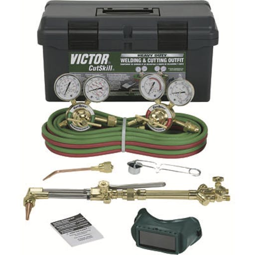 Oxy Acetylene Cutting & Welding Kit