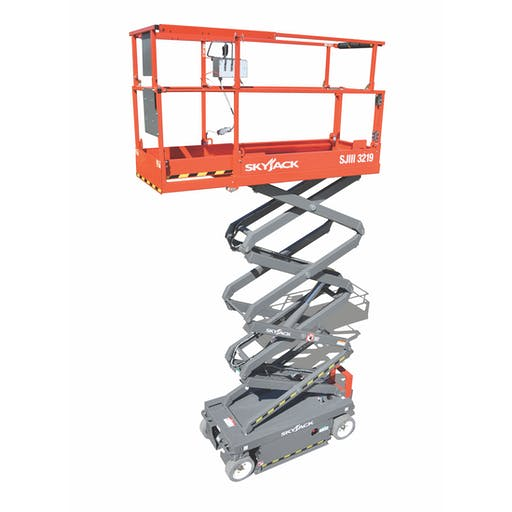 Skyjack SJIII 3219 - 7.79m Electric Scissor Lift