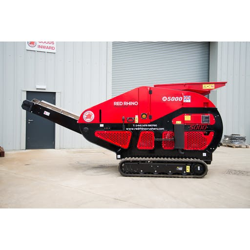 Red Rhino 5020 Mini Concrete Crusher