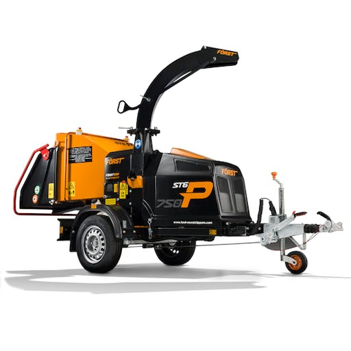 Industrial Towable Chipper