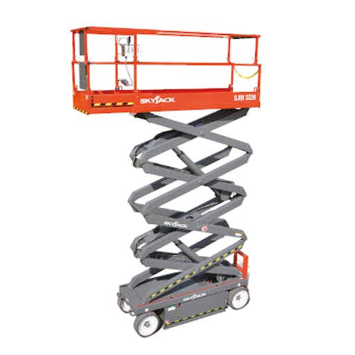 Skyjack SJ3226 - 9.72m Electric Scissor Lift
