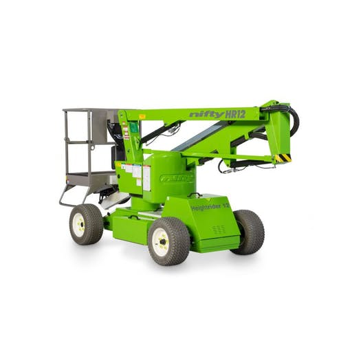 Nifty Lift HR12 12.2m Bi Fuel Boom Lift