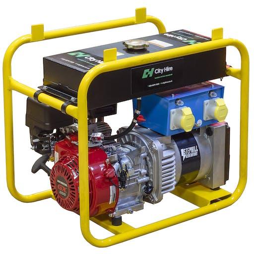 3.4kVA Network Rail Approved Petrol Generator
