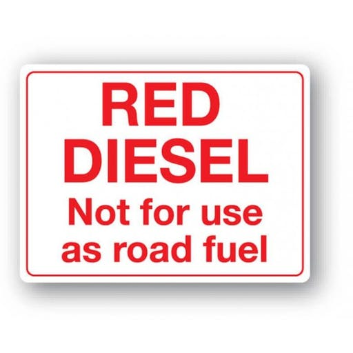 Diesel Gas Oil - not for road use