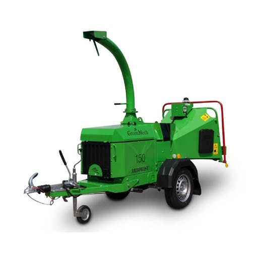 Industrial Towable Chipper - Diesel