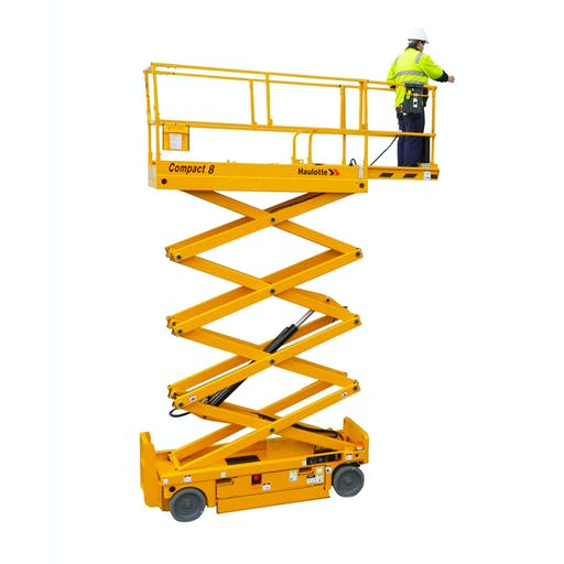 Haulotte Compact 8 Electric Scissor Lift