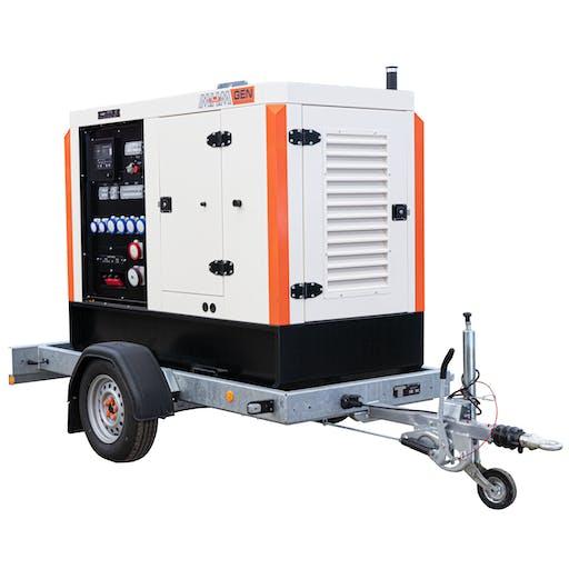 45kVA Road Tow Generator