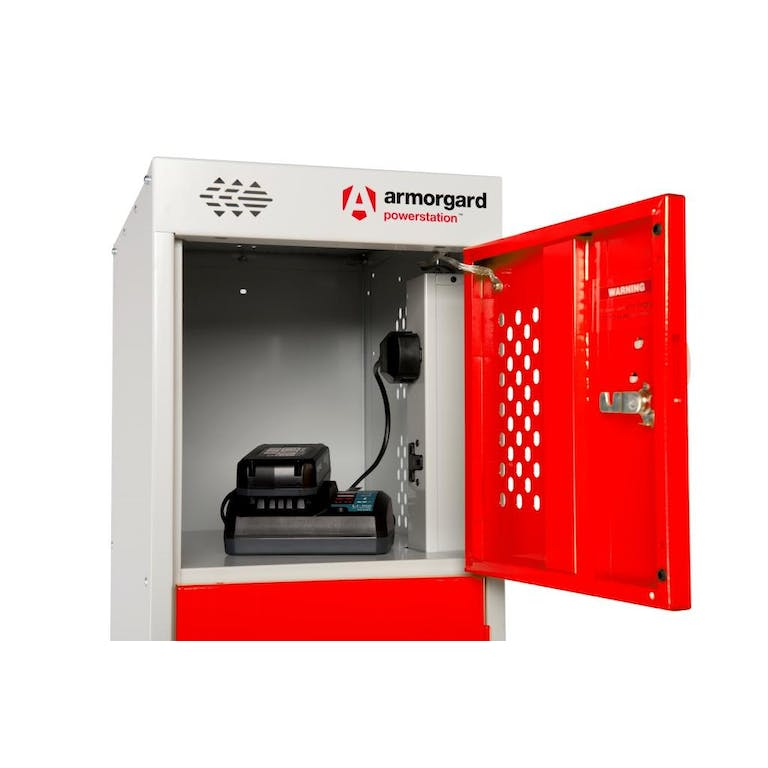 Battery Bank Charging Locker