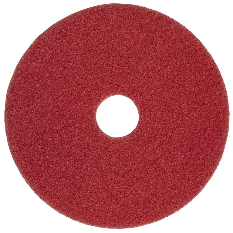 "Red Floor scrubbing pads - 17"""