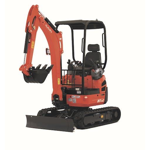 Mini Excavator (1.7 ton)