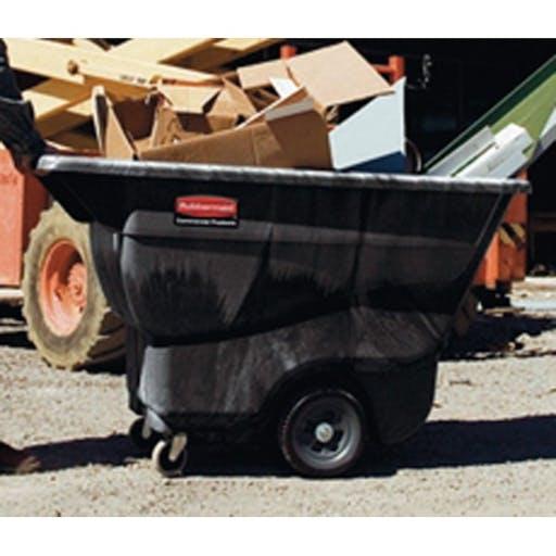 Site Waste Bin - trolley-style