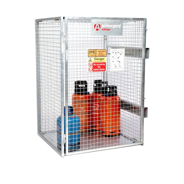 Foldable Gas Cage