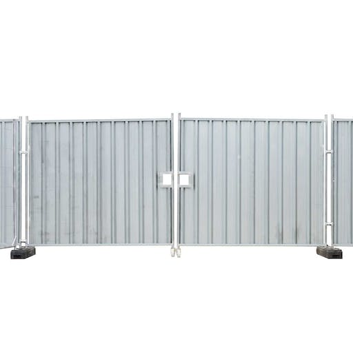 Temporary Hoarding Vehicle Gate Set