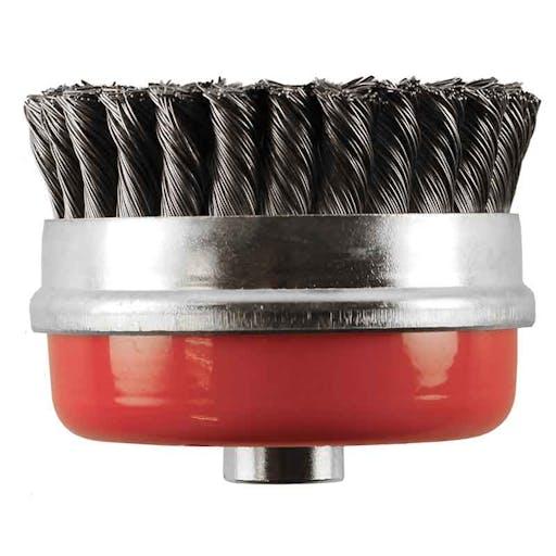 "Zip wheel - 5"" twist wire cup"