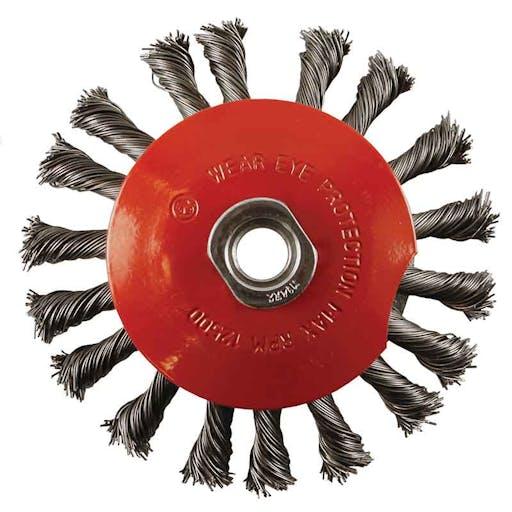 "Zip wheel - 5"" twist wire"