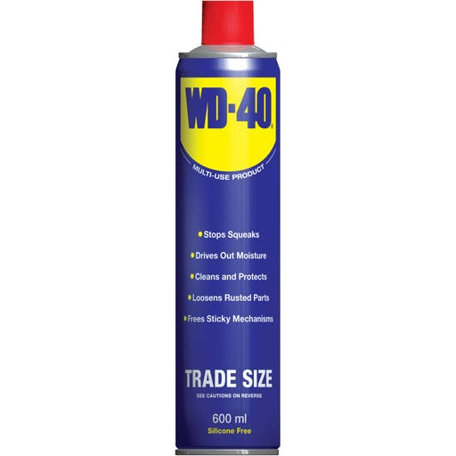Oil - lubricating WD40