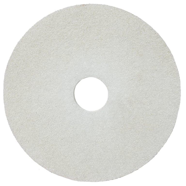"White Floor scrubbing pads - 17"""